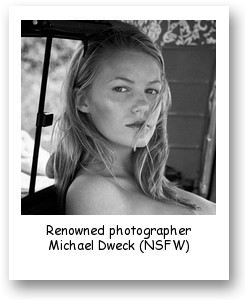 Renowned photographer Michael Dweck