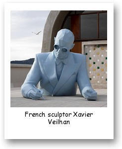 French sculptor Xavier Veilhan