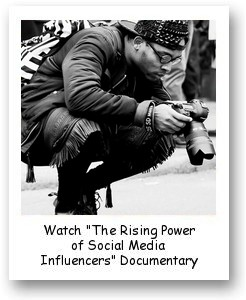 """""""The Rising Power of Social Media Influencers"""" documentary"""