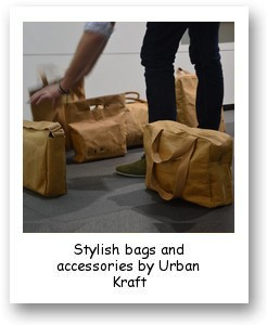 Stylish bags a and accessories by Urban Kraft