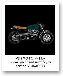 VDBMOTO H-1 by Brooklyn-based motorcycle garage VDBMOTO