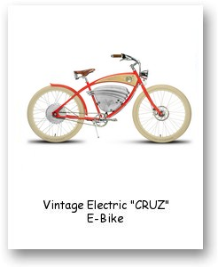 "Vintage Electric ""CRUZ"" E-Bike"