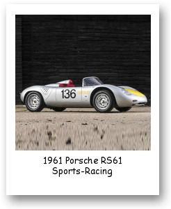 1961 Porsche RS61 Sports-Racing