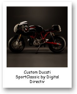 Custom Ducati SportClassic by Digital Directiv