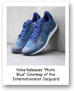 "Nike Releases ""Photo Blue"" Colorway of the Internationalist Jacquard"