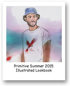 Primitive Summer 2015 Illustrated Lookbook