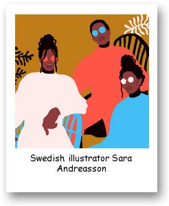 Swedish illustrator Sara Andreasson