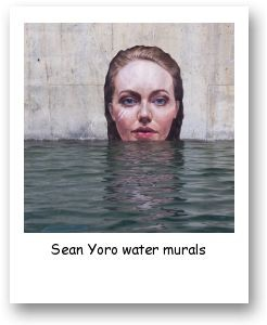 Sean Yoro water murals