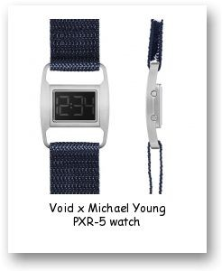 Void x Michael Young PXR-5 watch