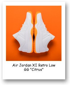"Air Jordan XI Retro Low GG ""Citrus"""