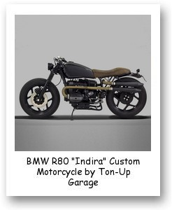 "BMW R80 ""Indira"" Custom Motorcycle by Ton-Up Garage"