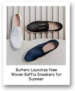 Buttero Launches New Woven Raffia Sneakers for Summer