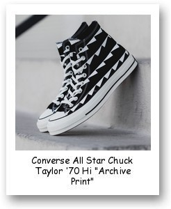 "Converse All Star Chuck Taylor '70 Hi ""Archive Print"""