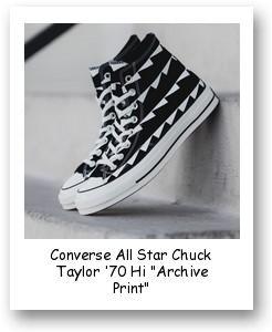"Converse All Star Chuck Taylor '70 Hi ""Archive Print"""