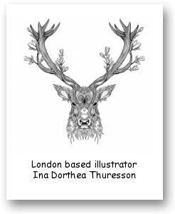 London based illustrator Ina Dorthea Thuresson