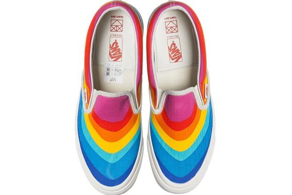 Rainbow Jam Collection Vans Slam Marshmallow X RHntqgA