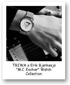 "TRIWA x Erik Bjerkesjö ""M.C. Escher"" watch collection"