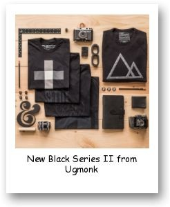 New Black Series II from Ugmonk
