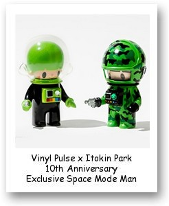 Vinyl Pulse x Itokin Park 10th Anniversary Exclusive Space Mode Man