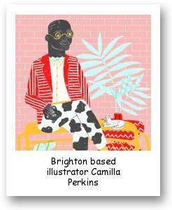 Brighton based illustrator Camilla Perkins