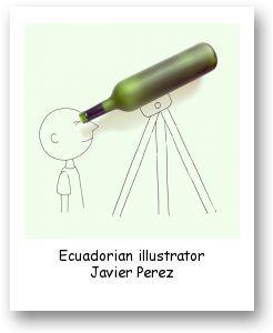 Ecuadorian illustrator Javier Perez