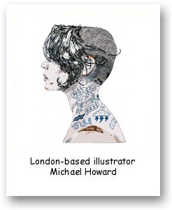 London-based illustrator Michael Howard