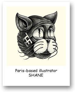Paris-based illustrator SHANE