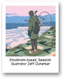 Swedish illustrator Jeff Osterber
