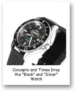 "Concepts and Timex Drop the ""Black"" and ""Silver"" Watch"