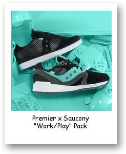 """Premier x Saucony """"Work/Play"""" Pack"""