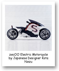 zecOO Electric Motorcycle by Japanese Designer Kota Nezu
