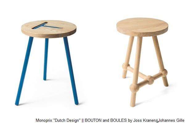 monoprix dutch design capsule collection. Black Bedroom Furniture Sets. Home Design Ideas