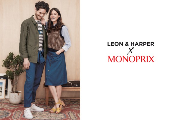 leon harper x monoprix capsule collection. Black Bedroom Furniture Sets. Home Design Ideas