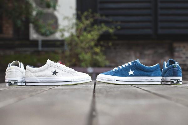 Converse dévoile la collection Converse One Star '74 fragment design, marquant la reprise du partenariat artistique avec fragment design, fondé par l'icône