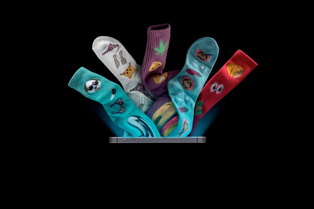HUF Emoji Series Socks