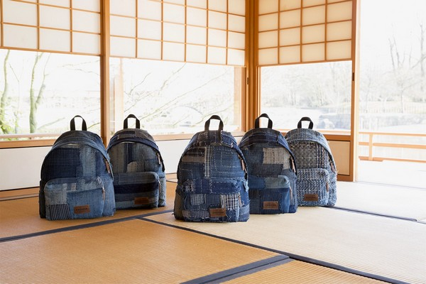 Pays Denim Homage Eastpak Japanese Traditional To Bq4S6xdwg