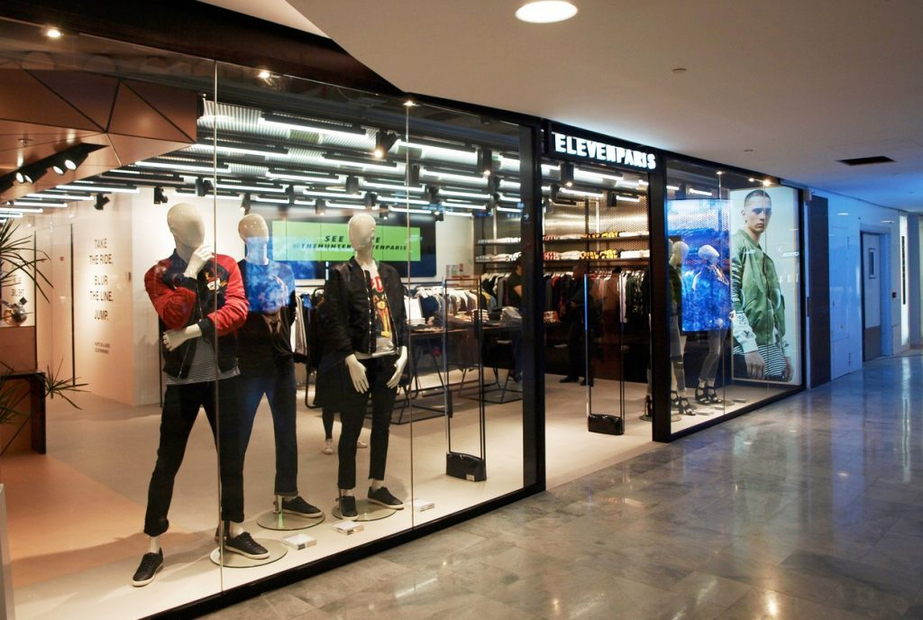ELEVENPARIS ouvre sa nouvelle boutique au FORUM DES HALLES