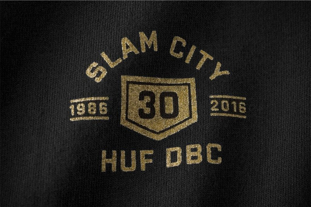 Collaboration HUF x Slam City Skates
