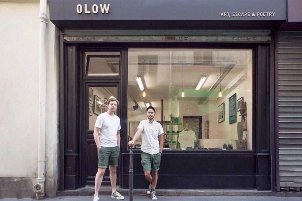 OLOW a Ouvert sa Première Boutique à Paris