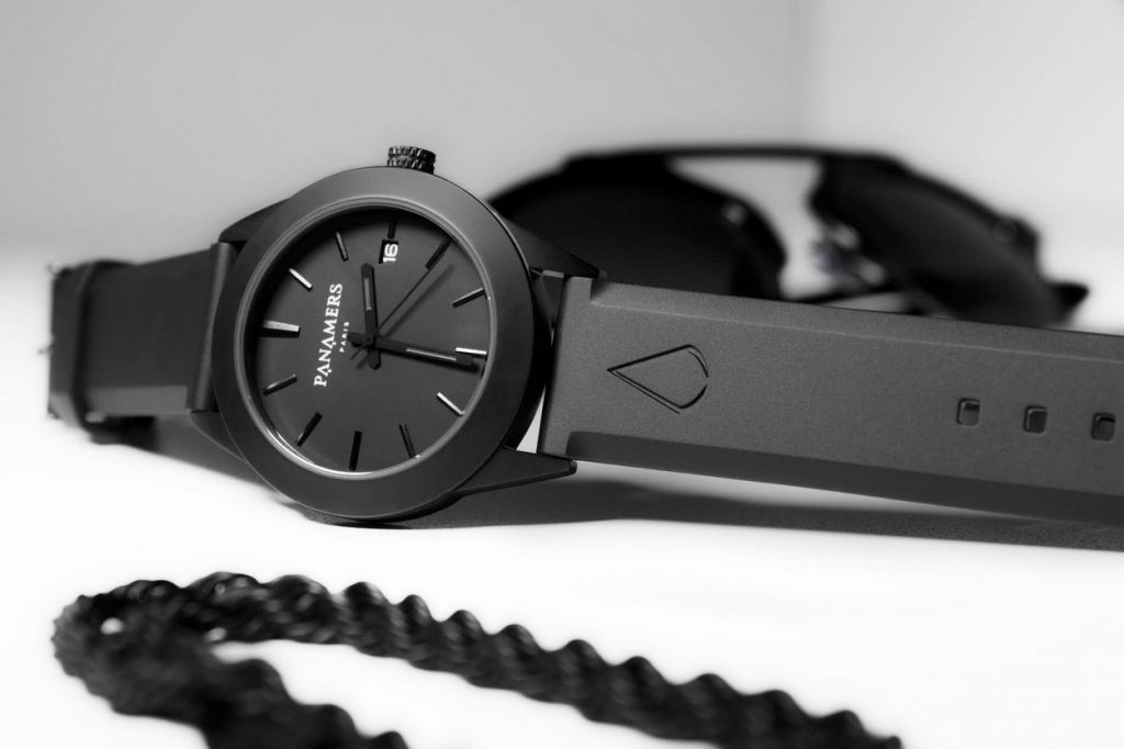 "Montres ""Blackout Edition"" PANAMERS Paris"