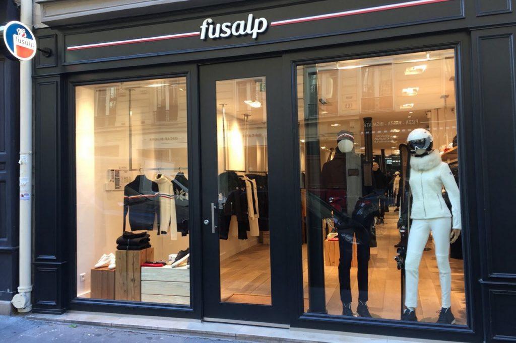 Fusalp Ouvre sa Deuxième Boutique à Paris