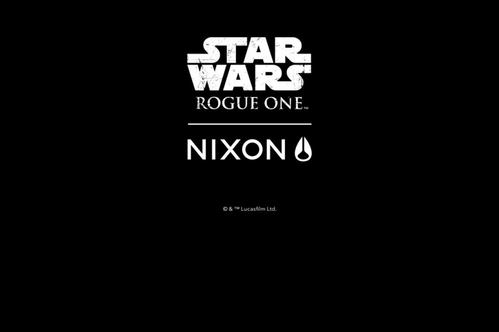 "NIXON ""Rogue One"" Collection"
