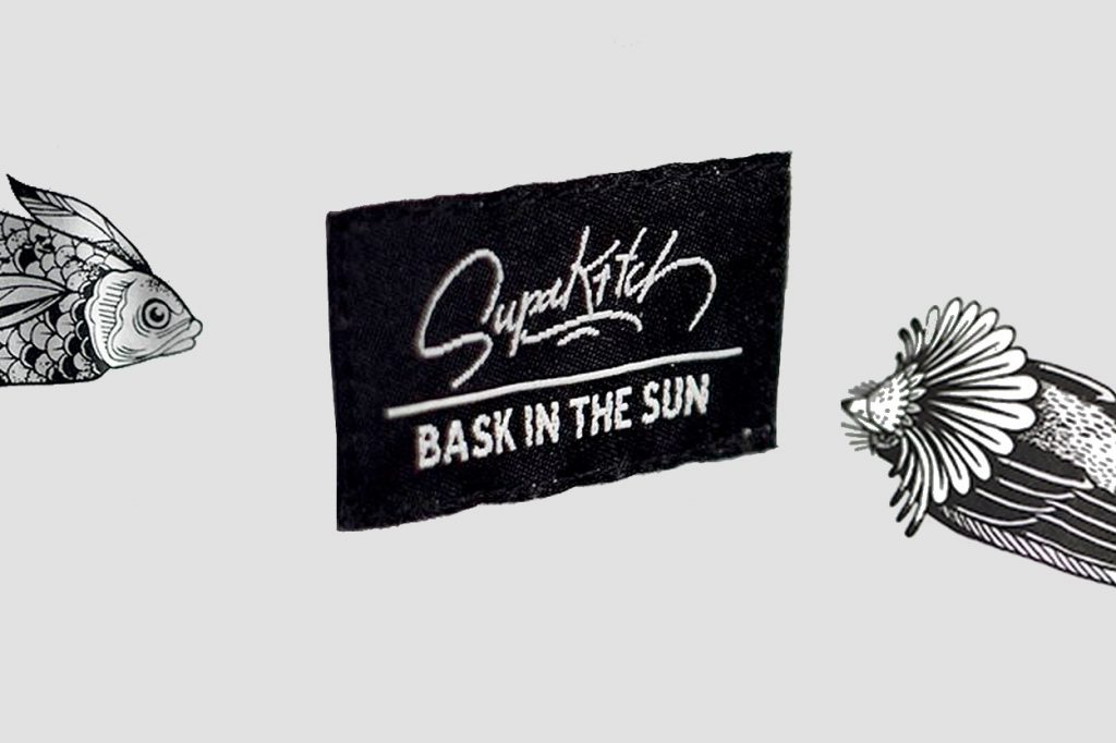 Bask in the Sun x Supakitch