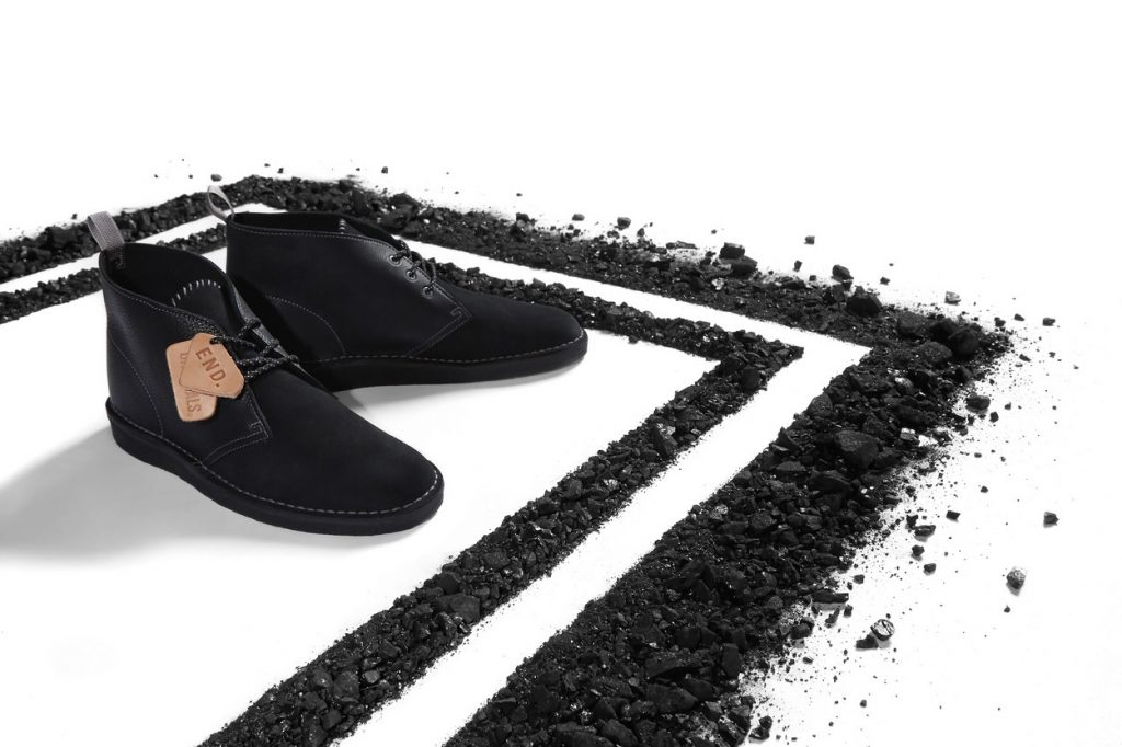 "Clarks Originals x END. Desert Coal ""Black Diamond"""