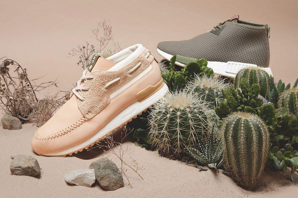 "END. x adidas Consortium ZX 700 Boat & NMD Chukka ""Sahara"" Pack"