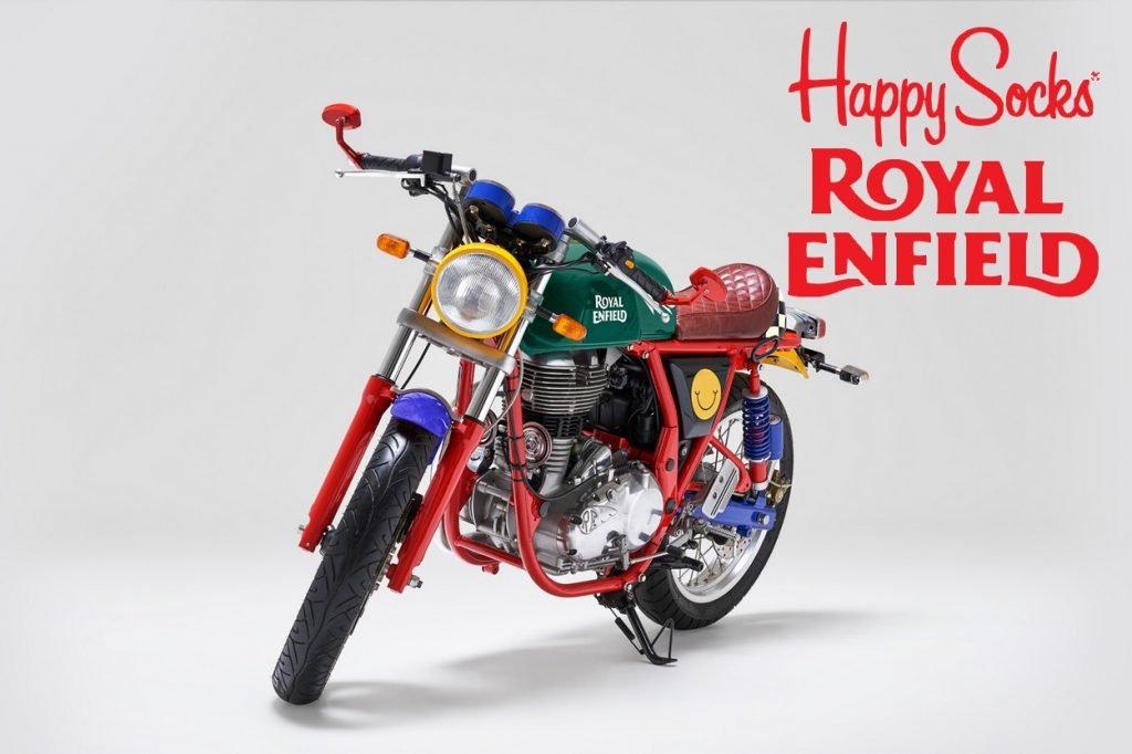 Happy Socks x Royal Enfield