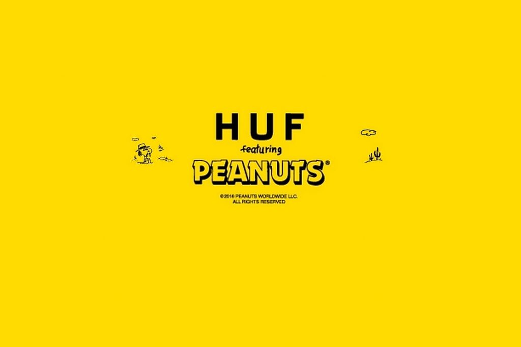 Collaboration HUF x Peanuts