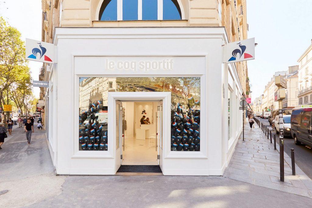 le coq sportif boutique paris
