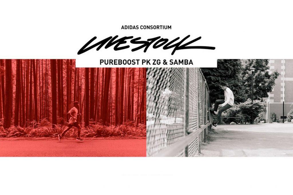 "adidas Consortium x LIVESTOCK ""Rhythm"" Pack"