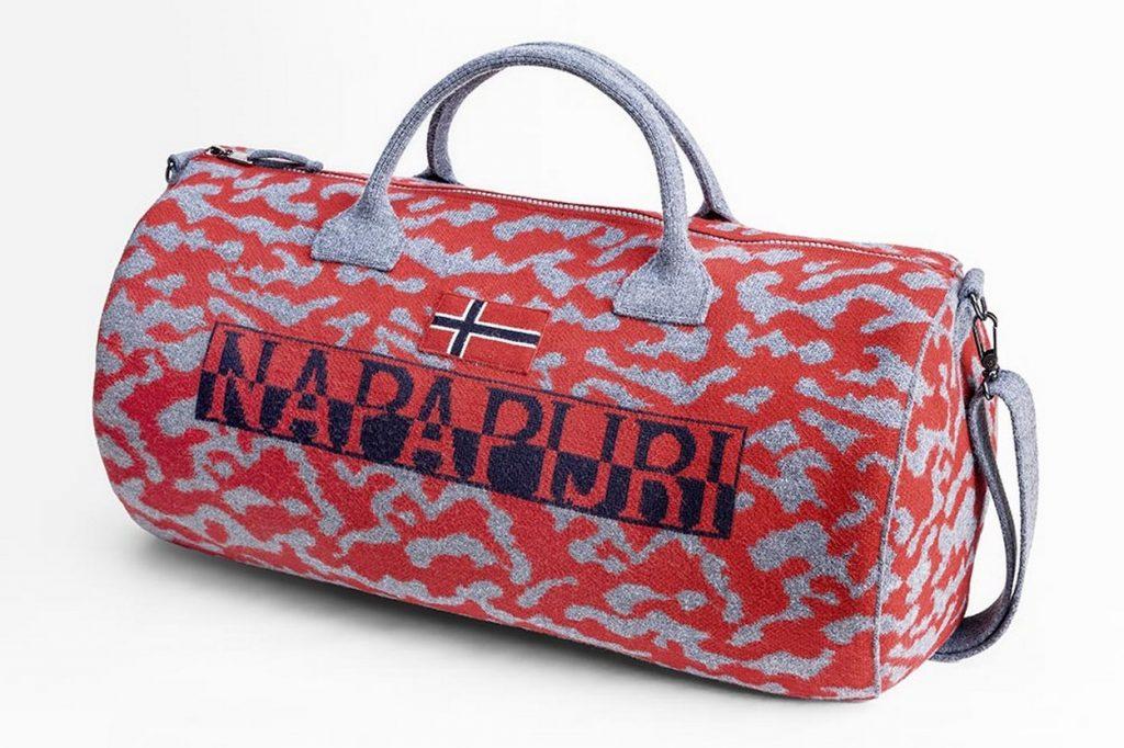 Napapijri Présente son sac Bering en Version Jacquard en Édition Limitée